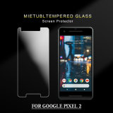 protector elegante Rasguñar-Resistente de la pantalla del vidrio Tempered de 0.33m m 9h 2.5D para Google Pixe 2XL