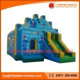 Надувные Moonwalk прыжком упругие замок (T3-038)