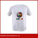 Fábrica redonda do Tshirt da venda por atacado da planície da garganta do algodão barato (R197)