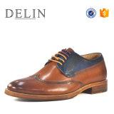 Chaussures en cuir véritable personnalisés pour les hommes chaussures vestimentaire