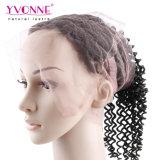 Yvonne 도매 브라질 인간적인 Virgin 360 레이스 정면 비꼬인 컬 22.5*4 머리