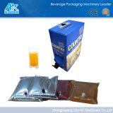 ボックス充填機または胸当ての充填機のワイン袋