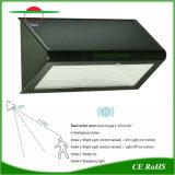 Radar de plein air à LED lumière solaire pour le mur du jardin d'éclairage de route