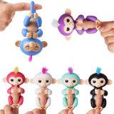 Speelgoed van de Aap van de Jonge vis van het Stuk speelgoed van de Baby van de Vinger van het Stuk speelgoed van kinderen het Elektronische Interactieve