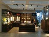 現代ヨーロッパ人の寝室のための最新のガラスワードローブの食器棚