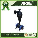 La agricultura de riego el filtro de arena de agua centrífuga
