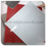 6mm Optiwhite Ultra Clear colorido vidrio lacado para Splashbacks