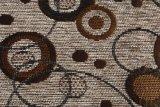 Tela de Chenille del círculo para el sofá (FTH31177)