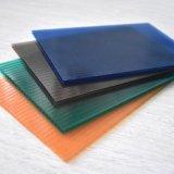 Folha oca de cristal resistente UV do policarbonato por 10 anos de garantia