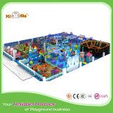 Cour de jeu d'intérieur de divers d'enfants d'amusement matériel de paradis