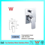 Precio competitivo Sanitarios marca de agua de latón Mezclador de ducha (CG616)