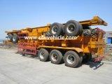 50 tonnellate resistenti 3 degli assi del contenitore di rimorchio semi