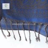 Sciarpa calda di Pashmina di modo di vendita 2017 con lo scialle del jacquard del fiore