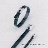 301 Ball-Lock из нержавеющей стали с покрытием из полиэфирного волокна кабельные стяжки