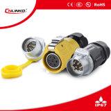Conector de batería de la bici/conectores de enchufe eléctrico fáciles/conectores impermeables BRITÁNICOS
