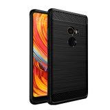 Задняя сторона обложки случая мобильного телефона TPU в случай Xiaomi Mix2