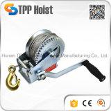 Treuil de main d'acier inoxydable avec le frein