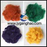 Fibra de grampo de poliéster colorida (PSF)