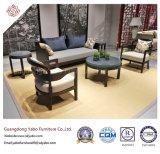 Freizeit-Hotel-Möbel mit dem chinesischen Gewebe-Sofa eingestellt worden (YB-O-27)