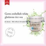 Soem-ODM-Großhandelsmikrobe verschönern weiße klebrige Reis-Seife für die Öl-Steuerhaut, die Akne-Abbau weiß wird