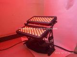 120X10W RGBWA UV 4 in 1 Wasmachine van de Muur van de Kleur van de Stad