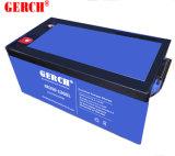 batería de plomo de la batería del gel de 12V 200ah para UPS, energía solar, energías eólicas, EPS, herramienta eléctrica,