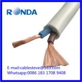 Sqmm elétrico flexível do cabo de fio 2X2.5 de H05VV