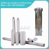 Fornire al filtro dal filato di pollice pp del filtro 30 dalla ferita della stringa del sedimento dal 1 micron pp l'adattatore 222 226