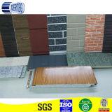 la pared flexible del revestimiento exterior con estilo popular embaldosa el panel de emparedado de la PU