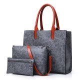 Venda a quente estilo Vintage 3 Peças Conjunto de Bolsas Saco Mulher Definido