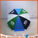 ロゴプリントが付いている昇進の折る日傘