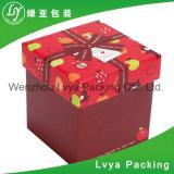 Коробка подарка картона Apple рождества упаковывая бумажная
