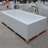 Porcelana sanitaria bañera de patas piedra artificial acrílico bañera
