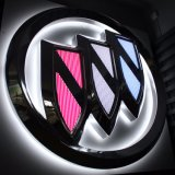 PETGによって電気めっきされる車のロゴおよび印の文字の広告