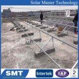 Painel Solar Tecto mosaico Kit de montagem PV, Suporte de montagem de telhado solar de alumínio, Sistema de montagem dos raios solares