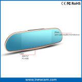 Передние и задние два объектива камеры GPS WiFi 1080P ПРИБОРНОЙ ПАНЕЛИ Car Cam