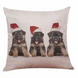 Het Verkopen van de schoffel het Geval van het Hoofdkussen van de Hond van het Huisdier voor de Decoratie van Kerstmis