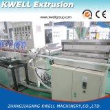 Mangueira trançada da fibra do PVC que faz a máquina para a pressão que transporta o sistema