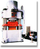 Metalúrgica, refractaria y caña de azúcar en la máquina - 26000KN Prensa hidráulica