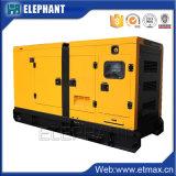 Schalldichter 25kVA Yangdong Dieselmotor stellte mit gelber Farbe ein