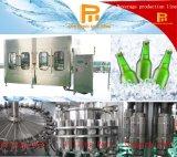 Cadena embotelladoa y de aislamiento de la botella de cristal de alta tecnología de cerveza de la máquina/de producción