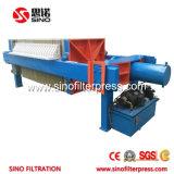 Tipo macchina industriale della filtropressa di recupero dell'acqua di scarico di riduzione dei costi