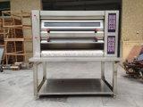 Apparatuur 2 Dek 4 van de Bakkerij van Hongling de Oven van de Pizza van het Dienblad