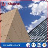 Mattonelle di pietra naturali durevoli dell'arenaria delle mattonelle di struttura per la decorazione esterna