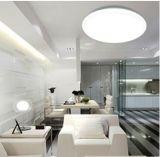 IP44 12W 3000K certificado CE Sensor de movimiento LED lámpara de techo