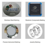 Shenzhen melhor para Fibras de Aço Inoxidável marcação a laser máquina para venda