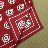 Sciarpa stampata abitudine della seta di modo 100%