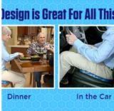 Gel de ovo de gel de Baby Sitter carro a almofada do assento para a condução de automóveis usados em qualquer lugar!
