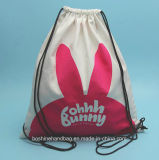 Sac en toile personnalisé/ sac de toile de coton/ salle de gym en toile sac sac avec lacet de serrage