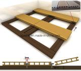 Misura del Faux di Decking di legno esterno della pavimentazione WPC Nizza per il balcone